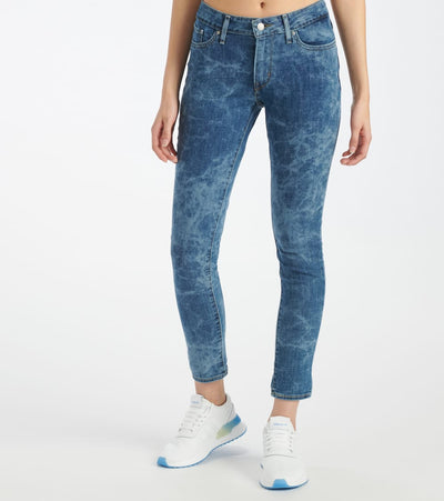 Levis  711 Skinny Watercolor Jean  Blue - 18881-0523 | Jimmy Jazz