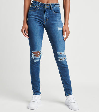 Levis  721 High Rise Skinny Jeans L30  Blue - 18882-0166 | Jimmy Jazz