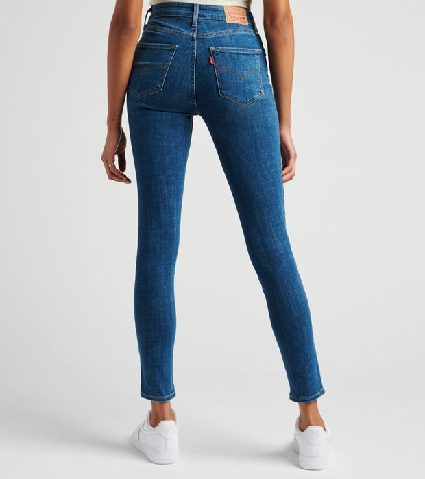 Levis  721 High Rise Skinny Lapis Blues Jeans  Blue - 18882-0365 | Jimmy Jazz
