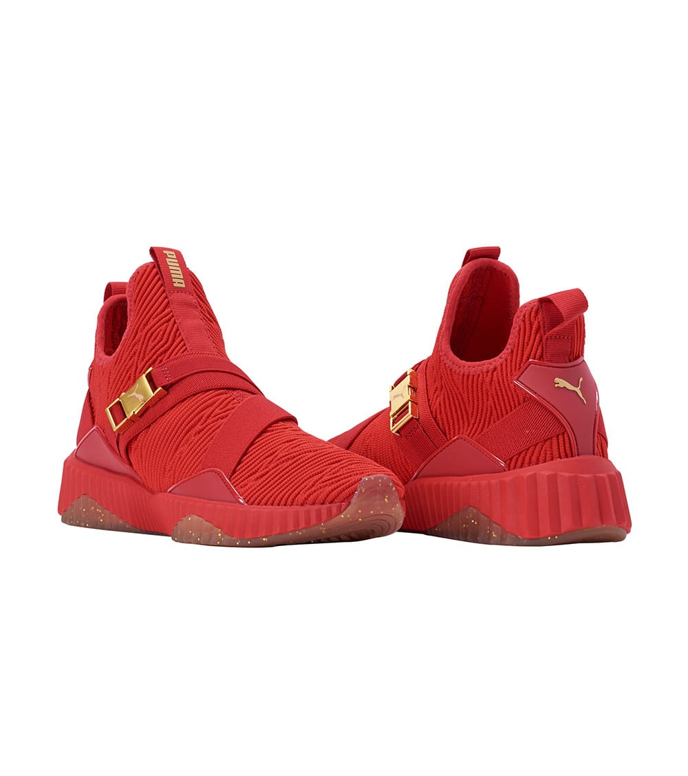 Puma  Defy Mid Varsity  Red - 191667-03 | Jimmy Jazz