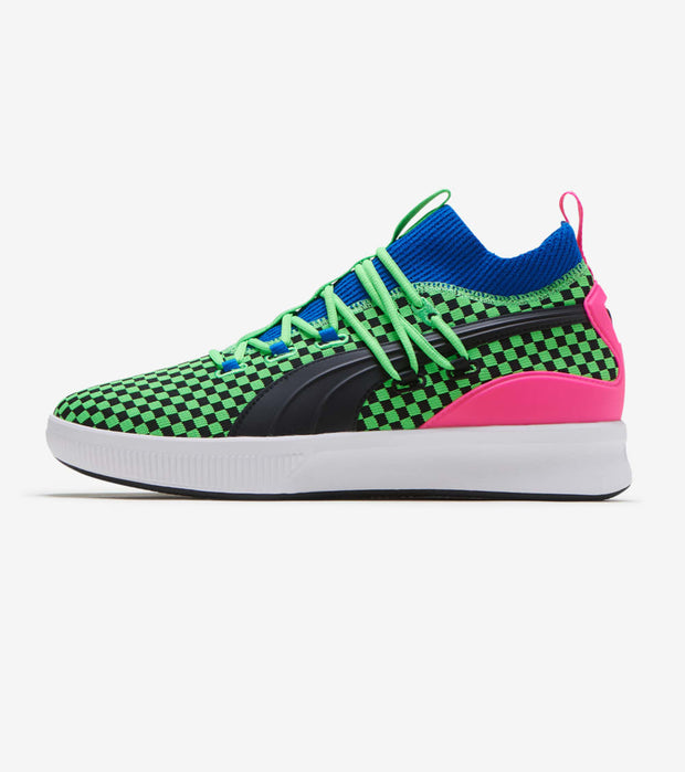 Puma  Clyde Court Summertime  Green - 192893-01 | Jimmy Jazz