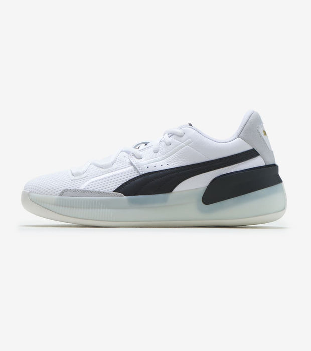 Puma  Clyde Hardwood   White - 193663-01 | Jimmy Jazz