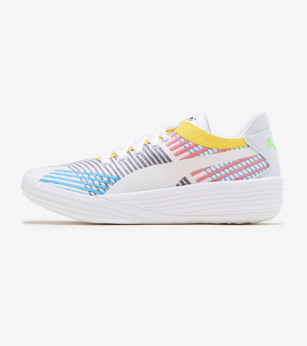 Puma  Clyde All Pro  White - 194039-01 | Jimmy Jazz