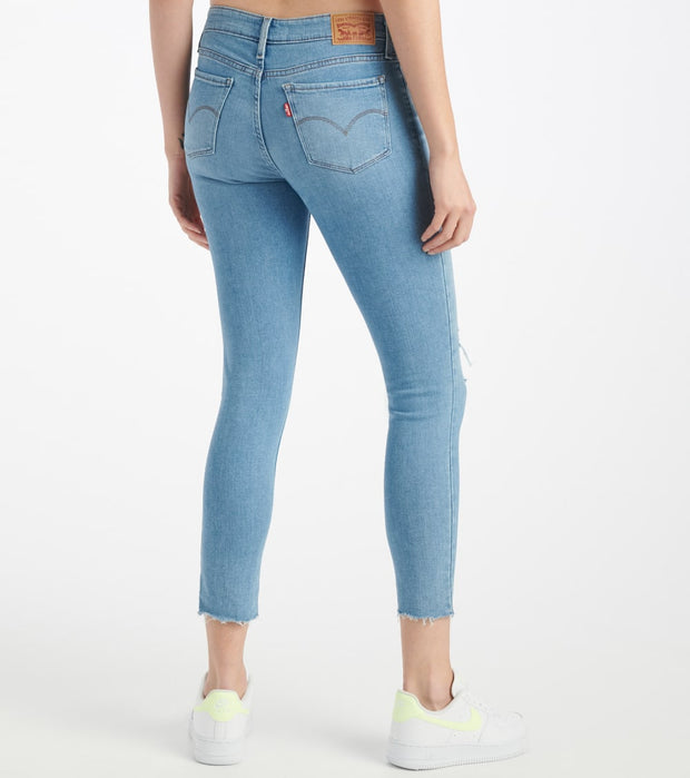 Levis  711 Skinny Ankle Sapphire Jeans  Blue - 19558-0084 | Jimmy Jazz