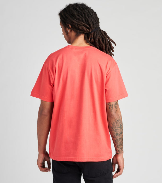 Hustle Gang  Street Sergeant Short Sleeve Tee  Red - 2010229-CAY | Jimmy Jazz