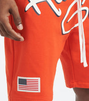 Hustle Gang  Serious Shorts  Red - 2011101-CHE | Jimmy Jazz