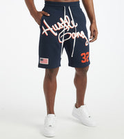 Hustle Gang  Serious Short  Navy - 2011101-NVY | Jimmy Jazz