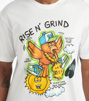 Hustle Gang  Fly Fresh Tee  White - 2011211-WHT | Jimmy Jazz