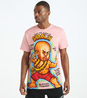 Hustle Gang  Shaolin Knit Tee  Pink - 2011308-PINK | Jimmy Jazz