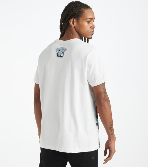 Hustle Gang  Mind of a Hustler Knit Tee  White - 2011313-WHT | Jimmy Jazz