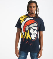 Hustle Gang  Pocket Knife Knit Tee  Navy - 2011316-NVY | Jimmy Jazz