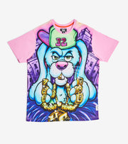 Hustle Gang  Hustle Hop Short Sleeve Knit  Pink - 2011323-PPK | Jimmy Jazz