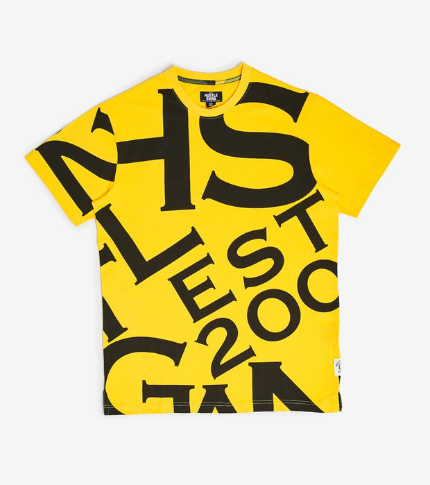 Hustle Gang  Hustle Gang Gabon Short Sleeve Shirt  Yellow - 2012301-DAN | Jimmy Jazz