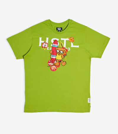 Hustle Gang  Nigeria Knit Tee  Green - 2012308-SPG | Jimmy Jazz