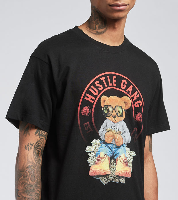 Hustle Gang  The Count Tee  Black - 2019203-BLK | Jimmy Jazz