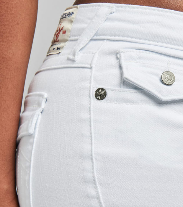 True Religion  Joey Cut Off Shorts  White - 204362-1800 | Jimmy Jazz