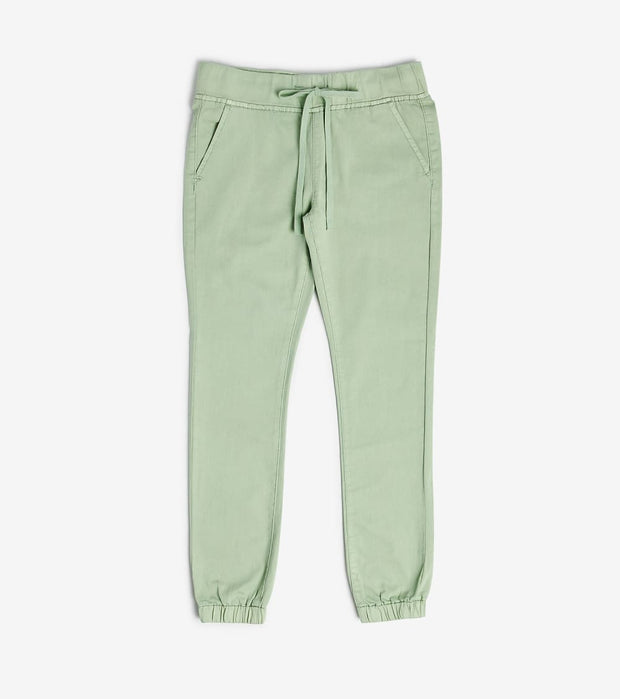 Essentials  Twill Joggers  Green - 2170259LGRGR-MNT | Jimmy Jazz