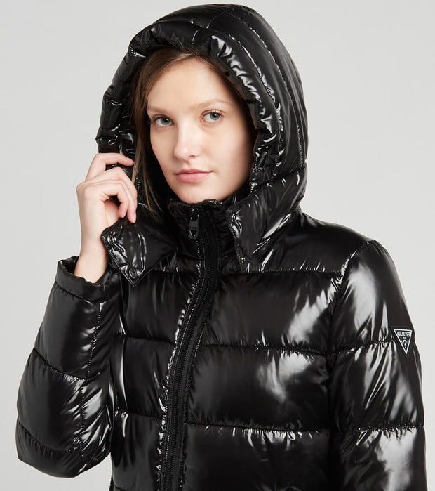 Guess  Liquid Puffer Jacket  Black - 22LMP856-BLK | Jimmy Jazz