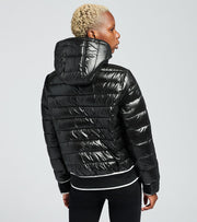 Guess  Bubble Bomber Jacket  Black - 22NMP924-BLK | Jimmy Jazz