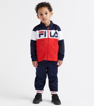 Fila  Colorblocked Track Jacket/Pant Set  Navy - 25F361-NVY | Jimmy Jazz