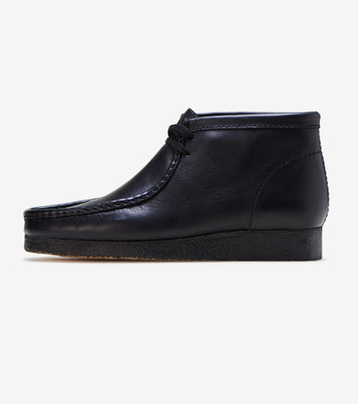 Clarks  Wallabee Boot  Black - 26103666 | Jimmy Jazz