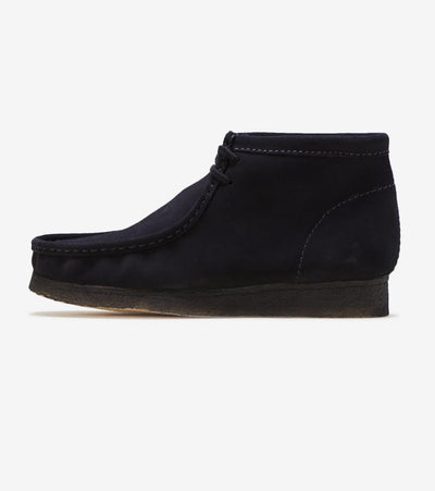 Clarks  Wallabee Boot  Black - 26133281 | Jimmy Jazz