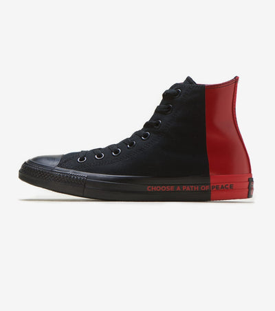 Converse  Chuck Taylor HI Seek Peace  Black - 266536F | Jimmy Jazz
