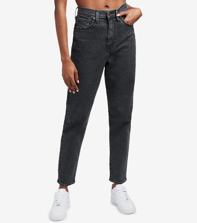 Levis  High Waisted Tapered Jeans  Black - 26986-0000 | Aractidf