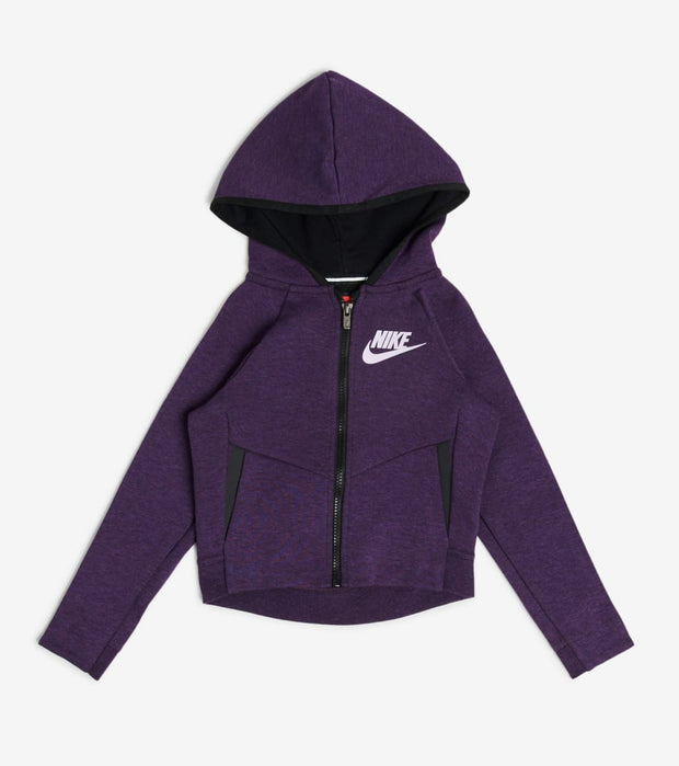 Nike  Toddler Girls NSW Tech Fleece Hoodie  Purple - 26C362-P34 | Jimmy Jazz