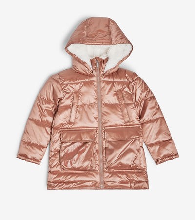 Nike  Girls' Polyfil Parka  Brown - 26D293G-R4P | Jimmy Jazz