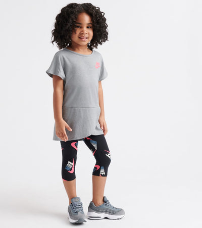Nike  Futura Toss Tunic Capri Set  Grey - 26E466-023 | Jimmy Jazz
