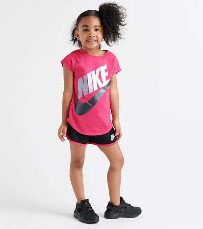 Nike  Futura T-Shirt & Short Set  Pink - 26E471-023 | Jimmy Jazz