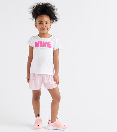 Nike  Graphic Tee & Shorts Set  White - 26E530-A9Y | Jimmy Jazz
