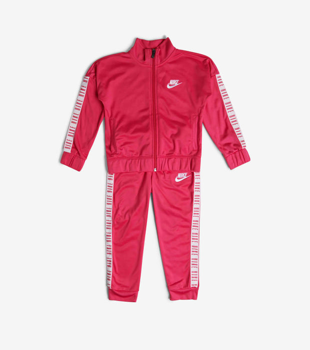 Nike  TD Girls Taping Tricot Set  Pink - 26F414-A4Y | Jimmy Jazz