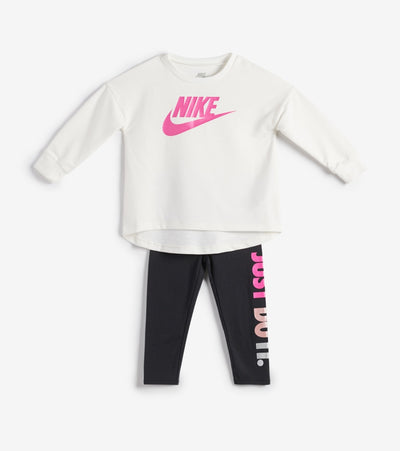 Nike  TD Girls Multi Shine Legging Set  White - 26F574-023 | Jimmy Jazz