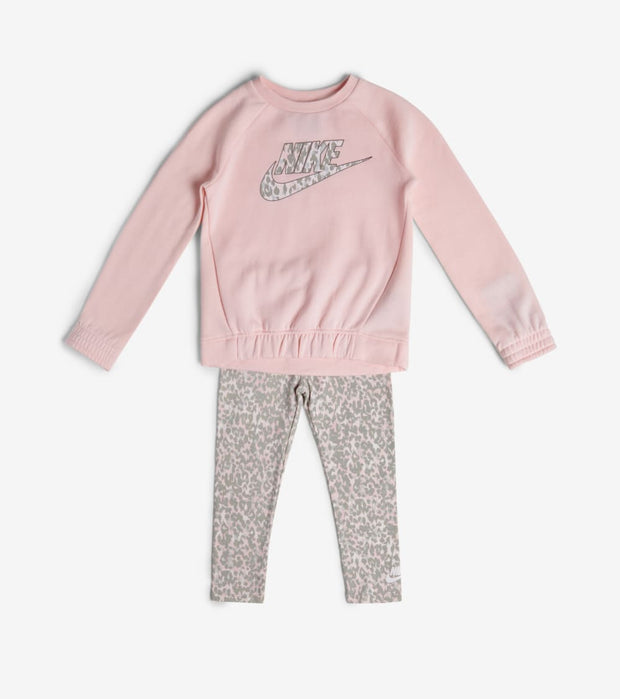Nike  TD Girls Animal Print Tunic Set  Pink - 26F732-AB6 | Jimmy Jazz