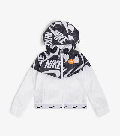 Nike  Girls Marker Mash Jacket  White - 26G216G-001 | Jimmy Jazz