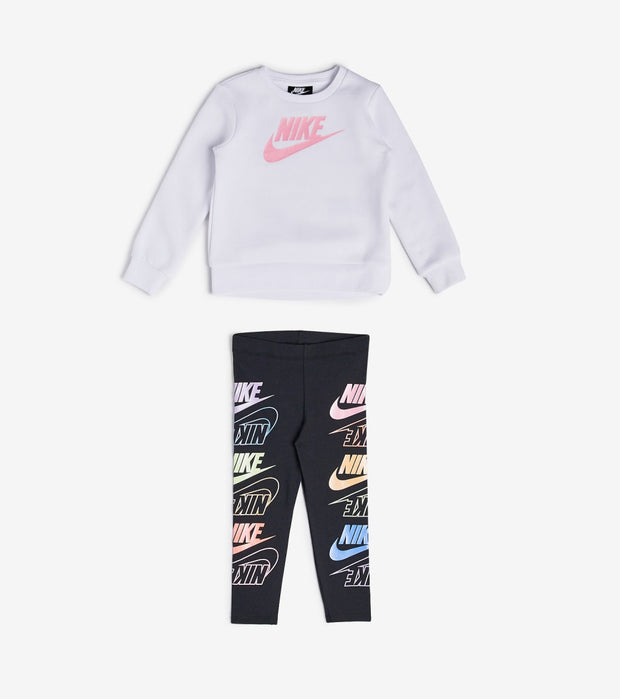 Nike  Toddler Girls Futura Stack Leggings Set  Black - 26G994-023 | Jimmy Jazz