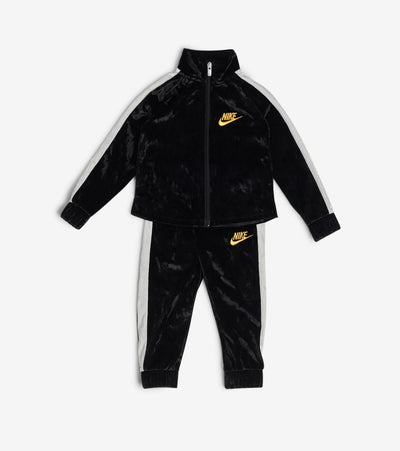 Nike  Crushed Velour Track Set  Black - 26H117-023 | Jimmy Jazz