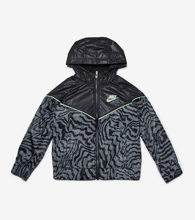 Nike  Girls Electric Zebra Windrunner  Black - 26H326G-023 | Jimmy Jazz