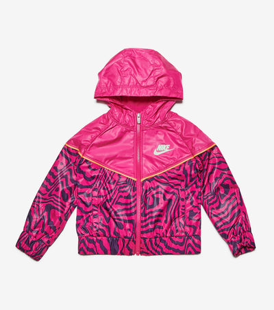 Nike  Toddler Girls Electric Zebra Windrunner  Pink - 26H326G-A0I | Jimmy Jazz