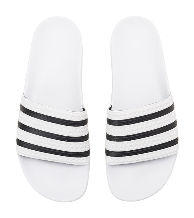 Adidas  Adilette Slide  White - 280648 | Jimmy Jazz