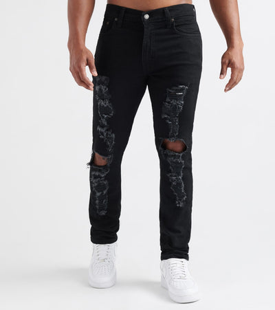 Levis  512 Slim Tapered Jeans - L32  Black - 28833L32-0365 | Jimmy Jazz