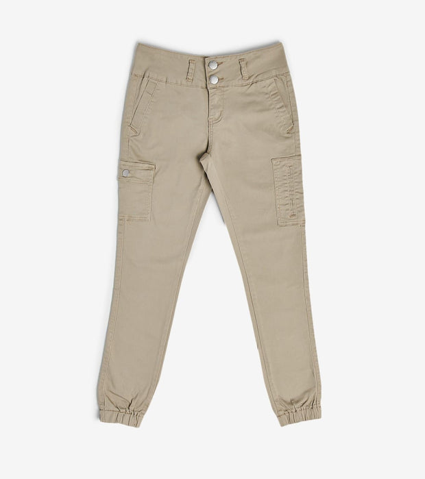 Essentials  Cargo Twill Jogger  Beige - 290236K-KHK | Jimmy Jazz
