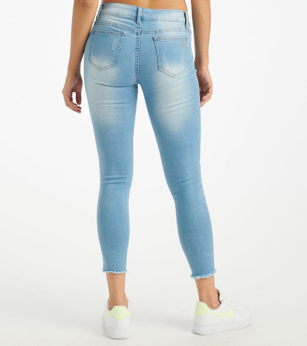 Essentials  Skinny Destruct  Blue - 290376L-LTB | Jimmy Jazz