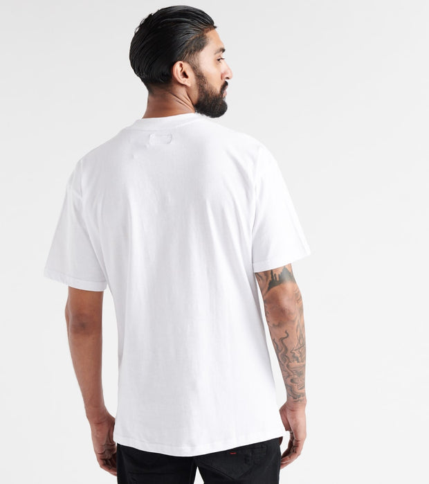 Hustle Gang  Grounder Knit Tee  White - 2912308-BWH | Jimmy Jazz