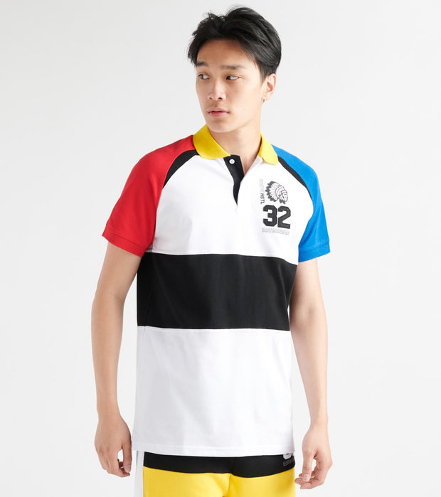 Hustle Gang  Runway SS Polo  Multi - 2914302-BWT | Jimmy Jazz