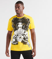 Hustle Gang  Heavy Ammo Knit Tee  Yellow - 2914311-LEM | Jimmy Jazz