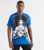 Hustle Gang  Heavy Ammo Knit Tee  Blue - 2914311-TRB | Jimmy Jazz