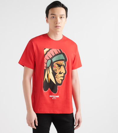 Hustle Gang  Up Close Ink Tee  Red - 2919203-RED | Jimmy Jazz